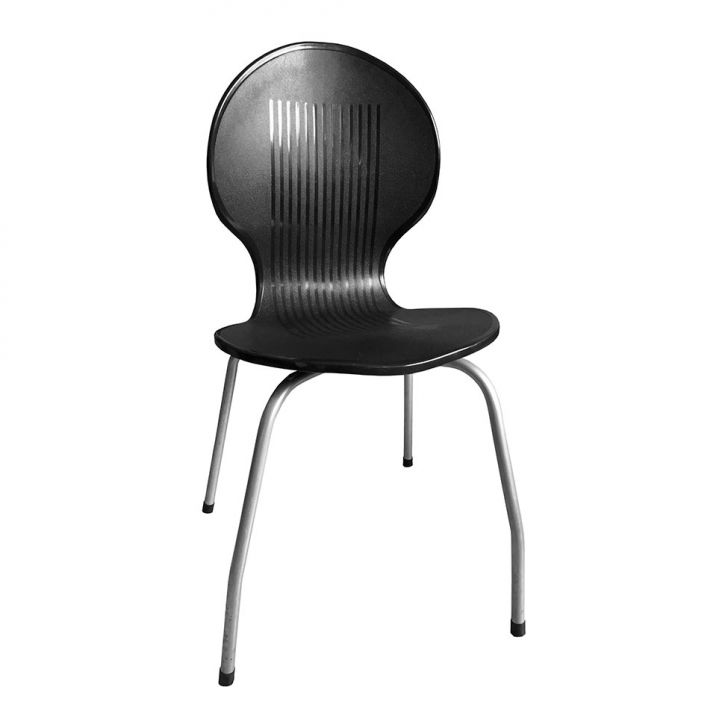 Cadeira de Plástico Itabira Preta Antares