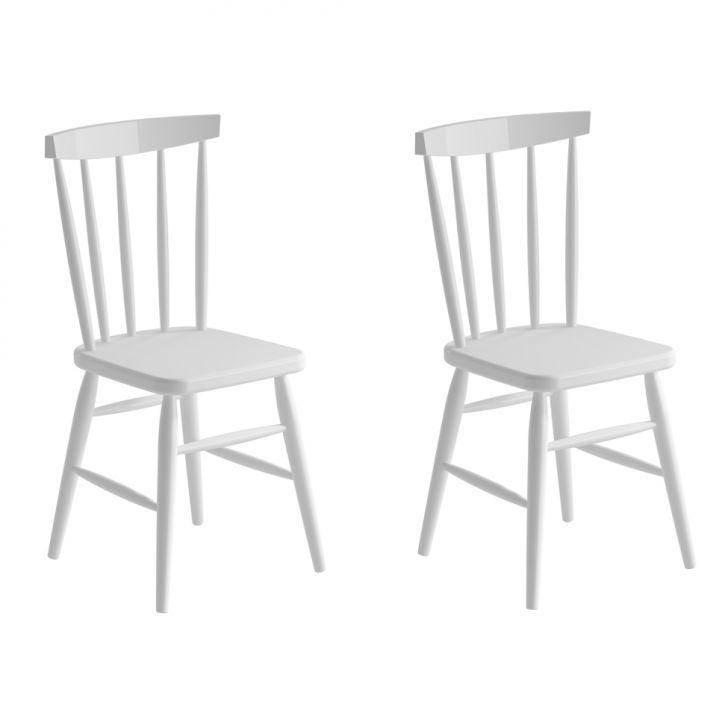 Conjunto 2 Cadeiras Campestre Udine Branco