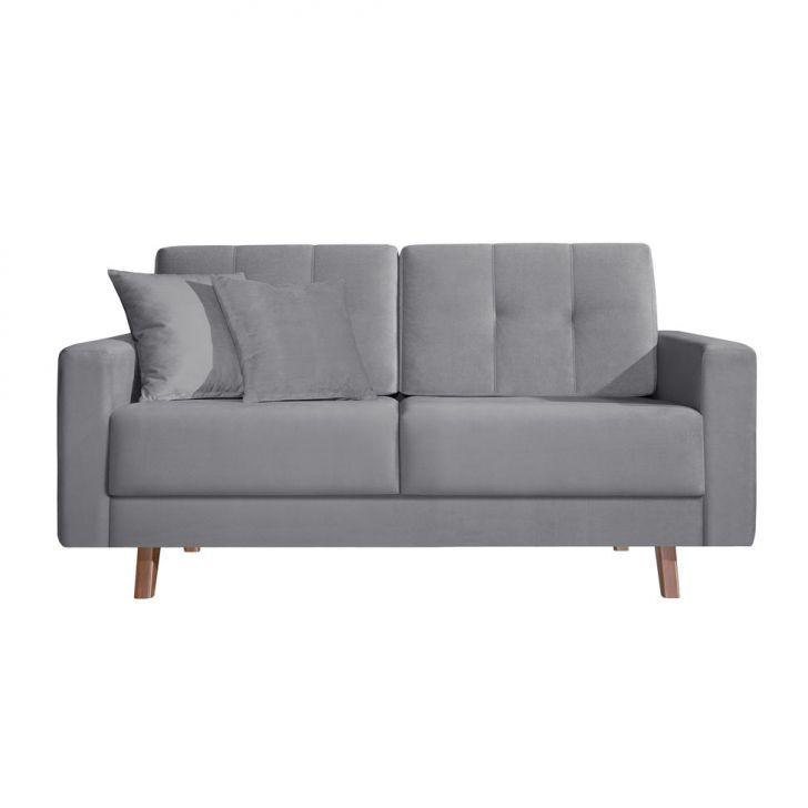 conjunto sof 2 e 3 lugares acqua 200 cm cinza. Black Bedroom Furniture Sets. Home Design Ideas