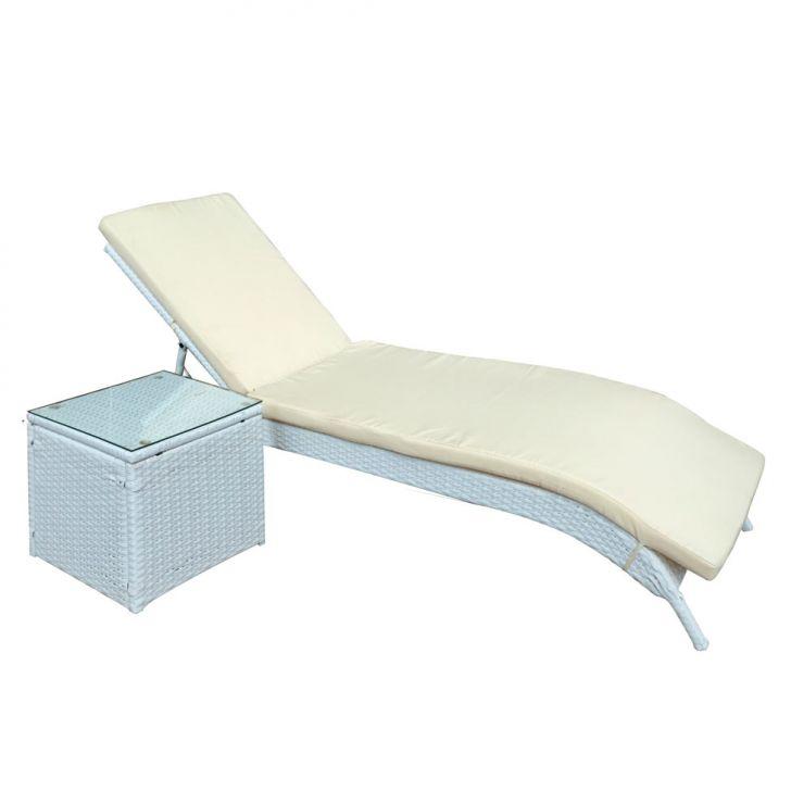 espregui adeira la rochelle com mesa lateral. Black Bedroom Furniture Sets. Home Design Ideas