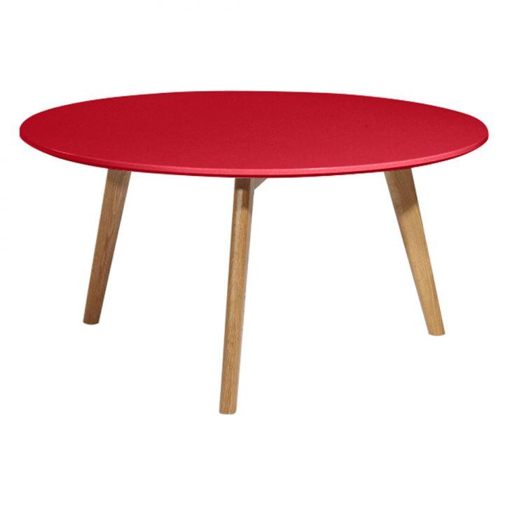 Mesa de Centro Eames Vermelha