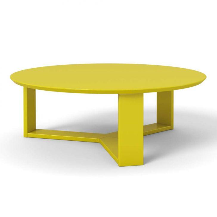Mesa de Centro Trix Amarelo