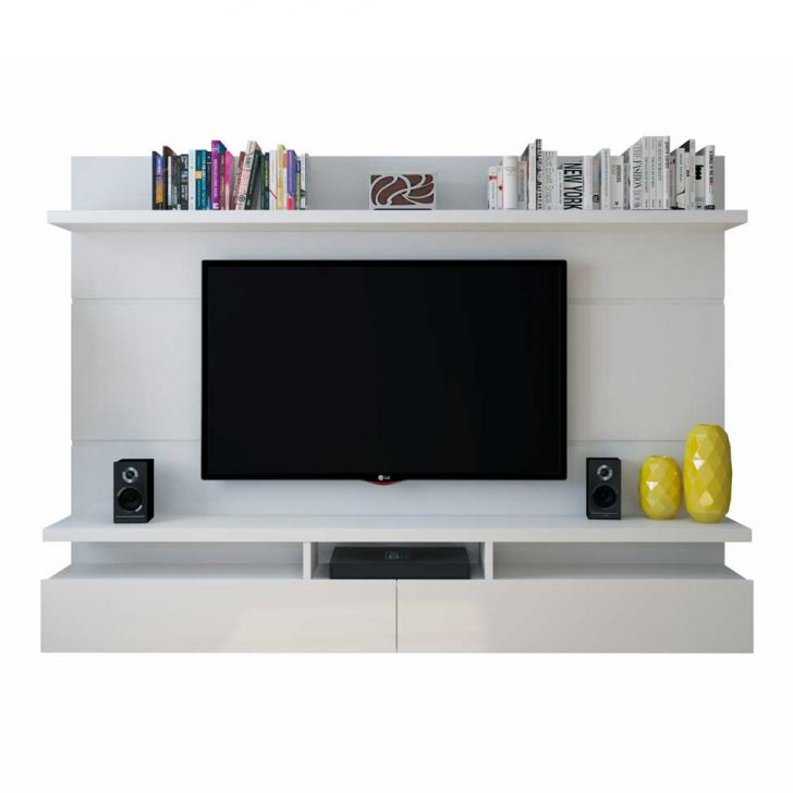 painel para tv 60 polegadas zeus branco gloss 220 cm. Black Bedroom Furniture Sets. Home Design Ideas