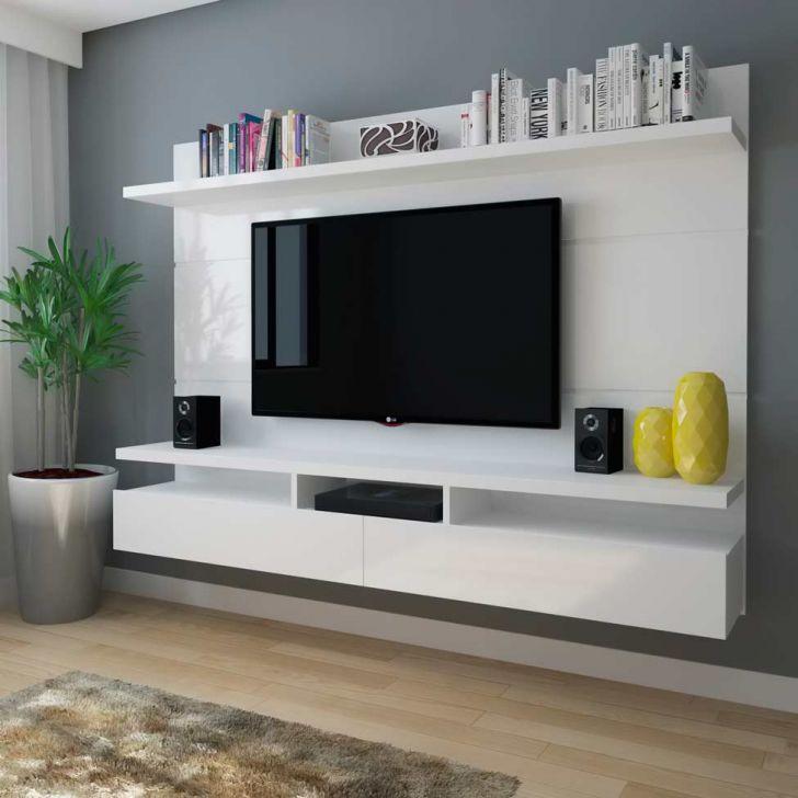Amado Painel para TV 60 Polegadas Zeus Branco Gloss 220 cm AK68