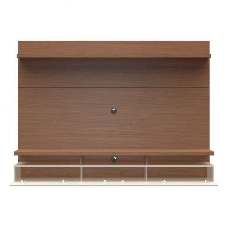 painel para tv 60 polegadas zeus natural e off white 220 cm. Black Bedroom Furniture Sets. Home Design Ideas