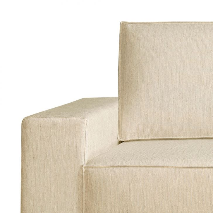 Sof 3 lugares dan bio linho bege 200 cm for Couch 200 cm