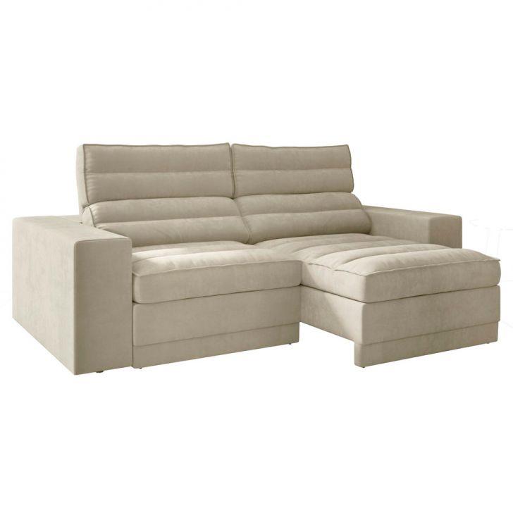 Sof 3 lugares retr til e reclin vel supreme velosuede areia for Sofa 7 lugares retratil e reclinavel firenze