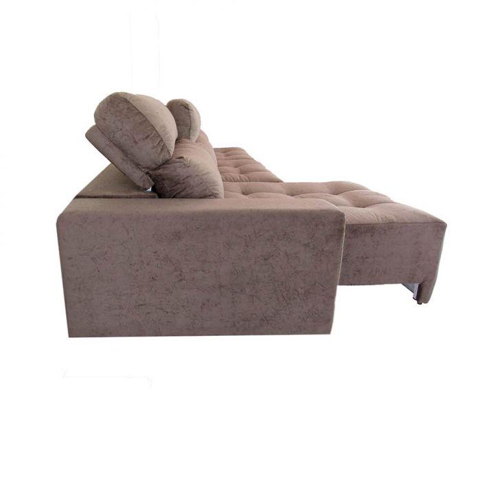 Sofa 6 lugares retr til e reclin vel arom suede amassado for Sofa 4 lugares retratil e reclinavel caravaggio suede amassado marrom