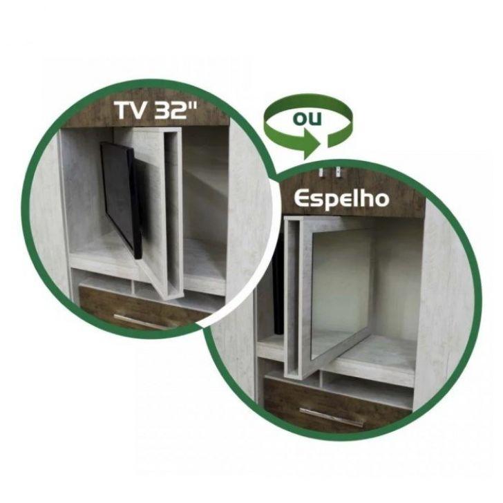c3bd6955337880 Guarda Roupa Solteiro Viena Avela Castanho Wood Moval
