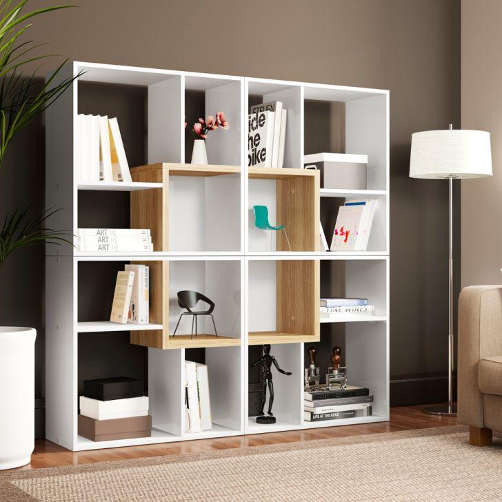 Conjunto com 4 Nichos Cube Branco