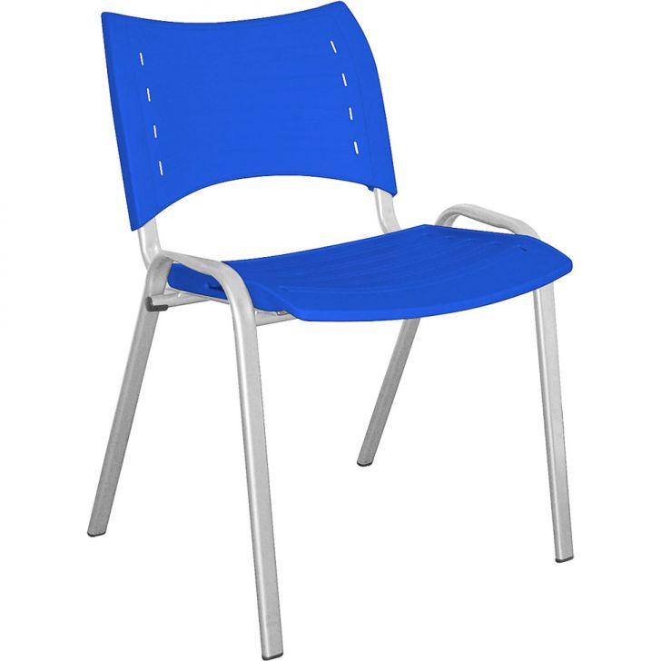 Cadeira de Escritório Stillus Fixa Azul