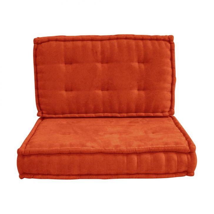 Sof cama futon solteiro patricia suede laranja - Sofas cama de 1 20 cm ...