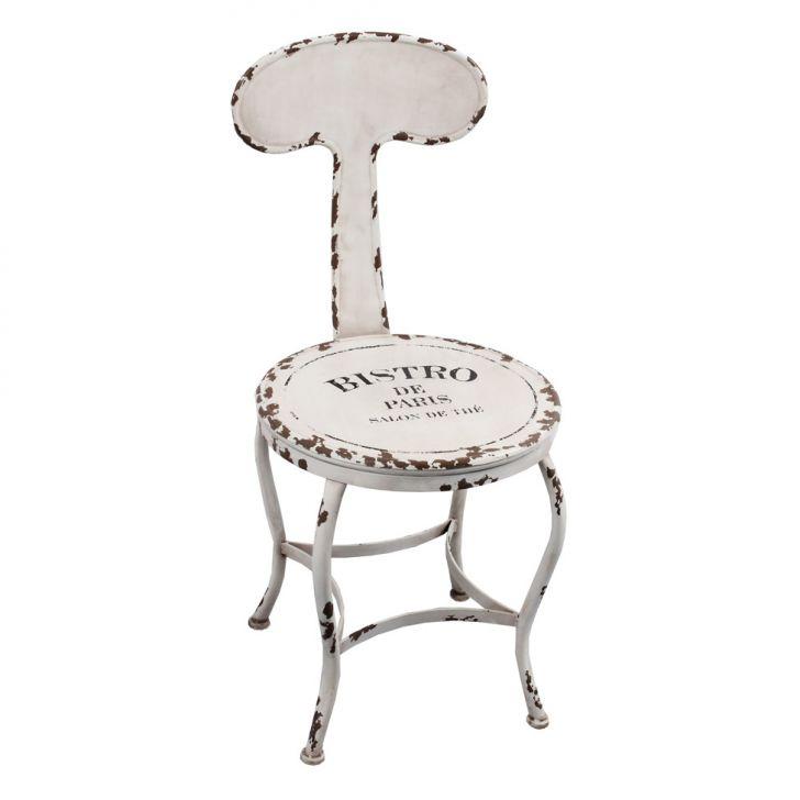 Cadeira Bistro Paris Branca Oldway