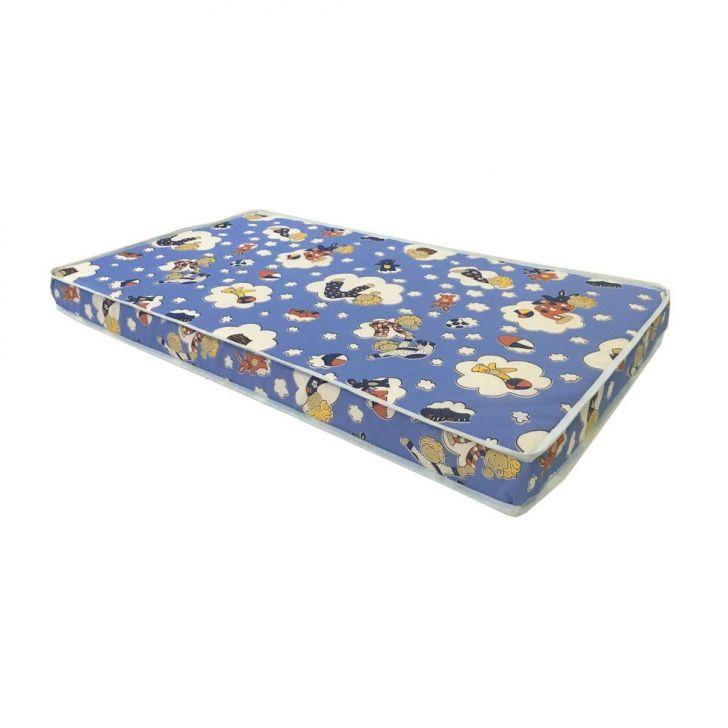 Colchão Infantil Espuma D18 Baby Physical (10x60x130) Azul