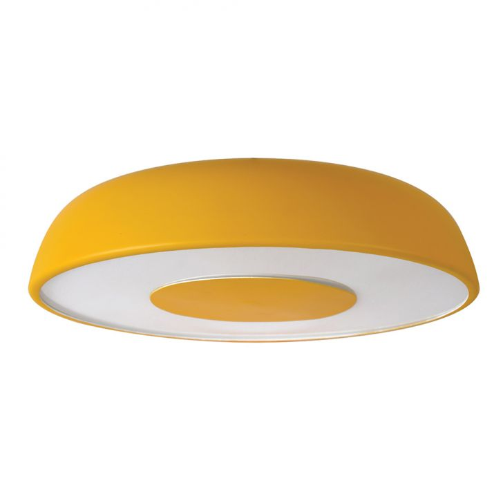 Plafon Contemporâneo Amarelo