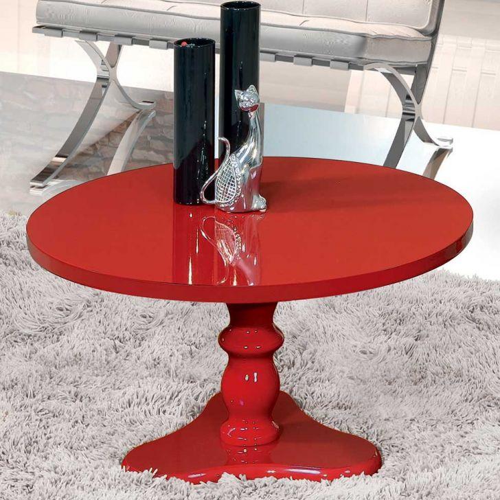 Mesa de Centro Intense Vermelha