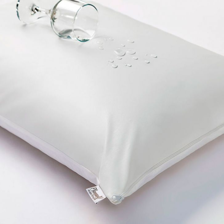 Capa para Travesseiro Impermeável 1962 com Zíper 50x90 Branco Plumasul