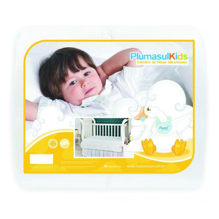 Edredom Fibra Siliconizada-Baby-100X140-Branco