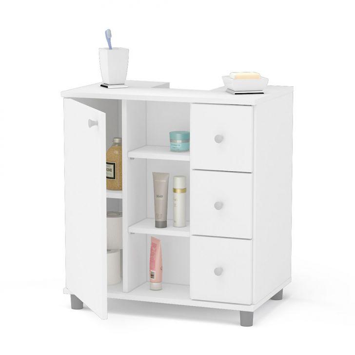 Gabinete Asti para Banheiro com Gavetas -> Gabinete De Banheiro Zoom