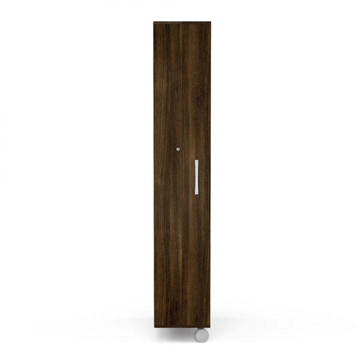 Sapateira com espelho it 1 porta e 16 prateleiras tabaco for Modelos de zapateras de madera modernas