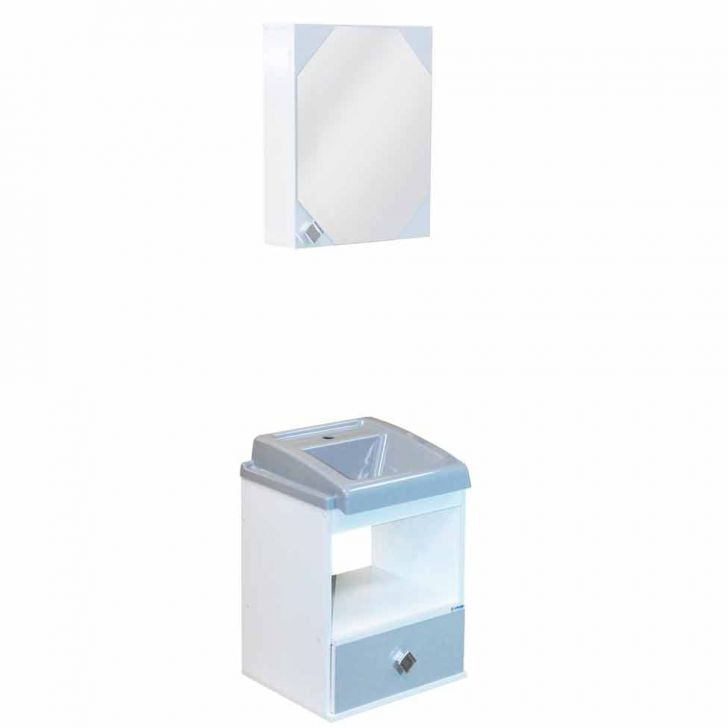 Conjunto Gabinete Eros 1GV Branco & Cinza