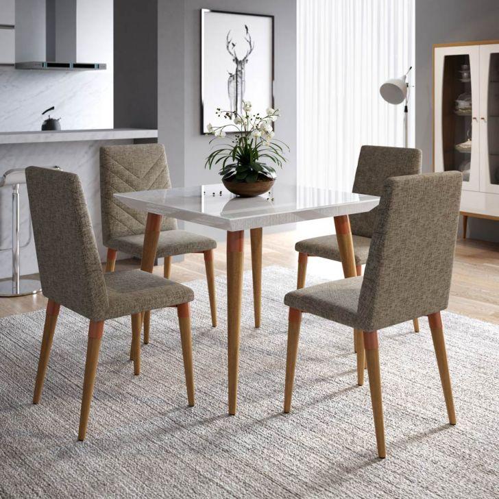 Resultado de imagem para Mesas de jantar modernas 4 lugares