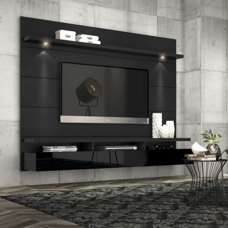 Painel Para Tv 60 Polegadas Horizon Preto Touch E Preto