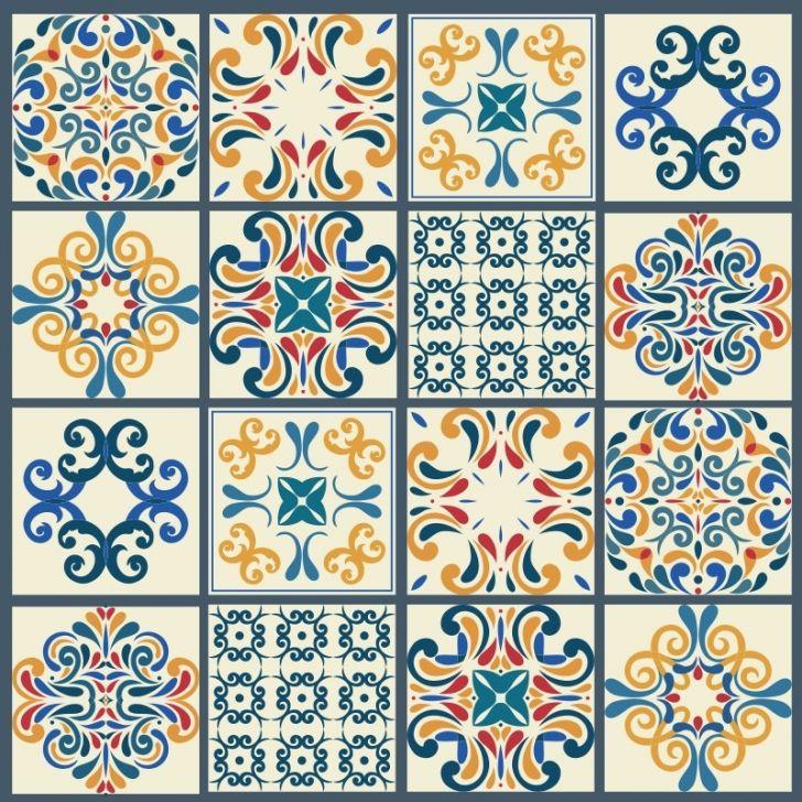 Adesivo de azulejo colargo 15x15cm for Azulejo 15x15