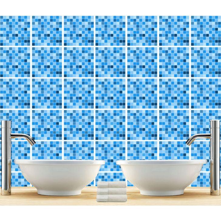 Adesivo De Azulejo Piscina 20x20cm