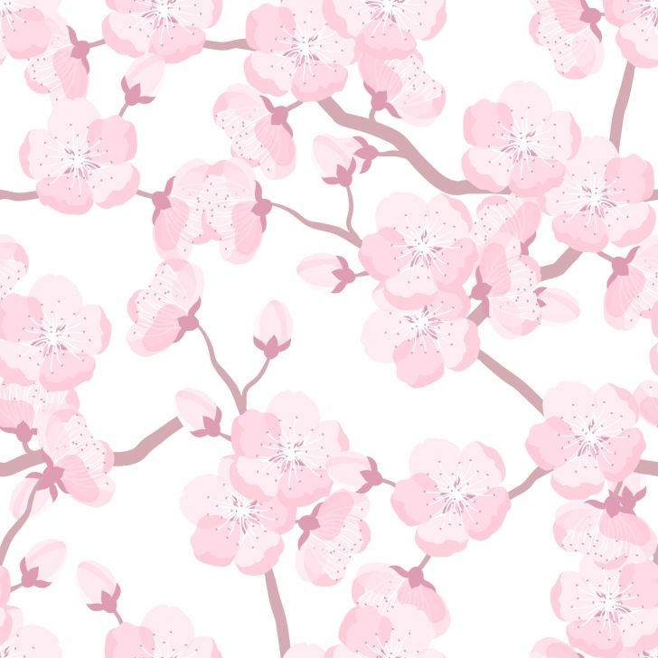 Artesanato Para Cozinha Em Tecido ~ Papel de Parede Adesivo Flor de Cerejeira 2