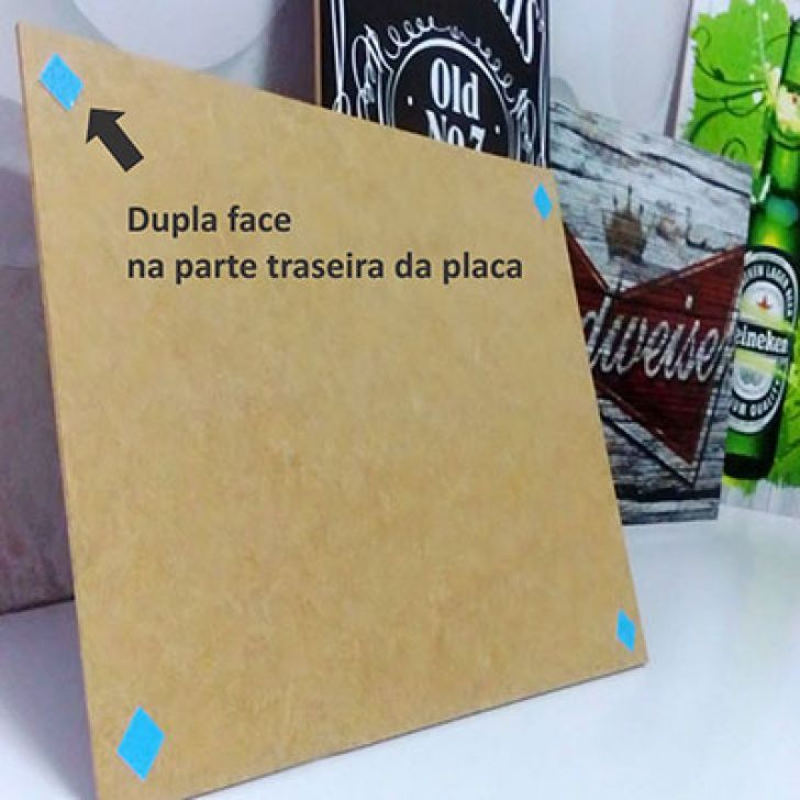 Placa Decorativa P574 - Frase
