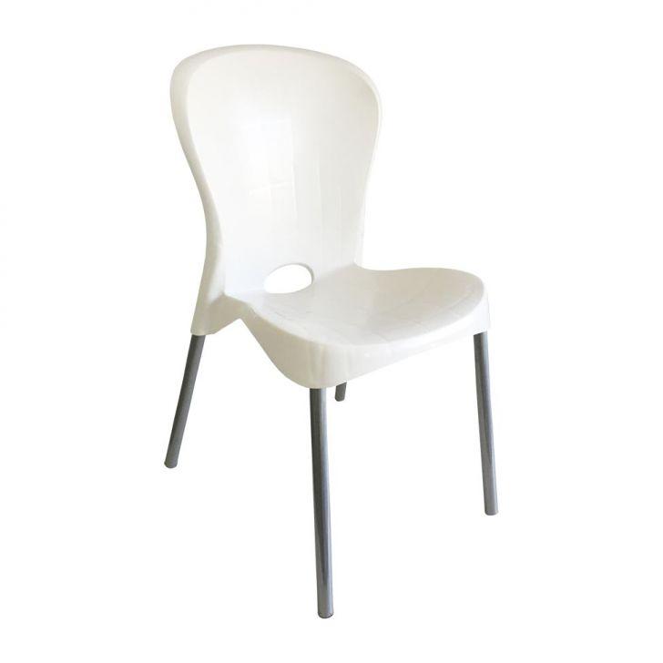 Cadeira de Plástico Montes Claros Branca