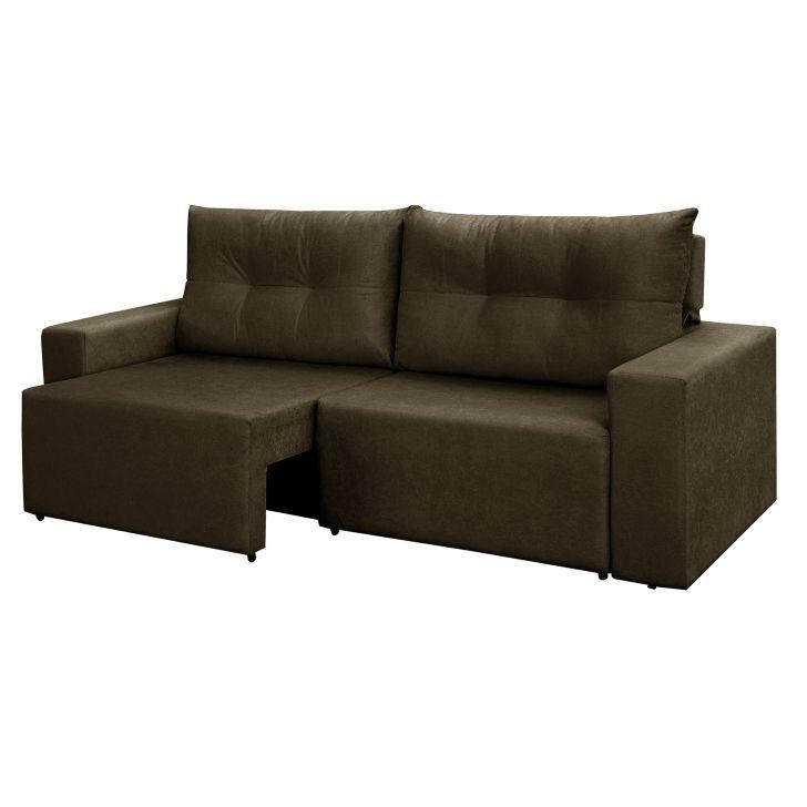 Sof 3 lugares orus retr til e reclin vel suede amassado for Sofa 4 lugares retratil e reclinavel caravaggio suede amassado marrom