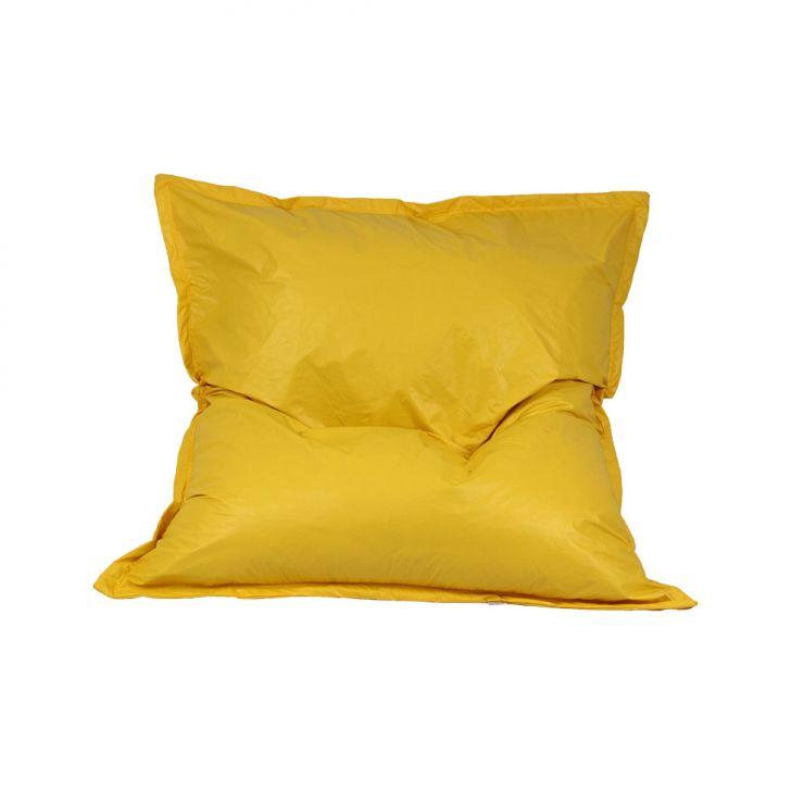 Puff Almofadão Pop Amarelo