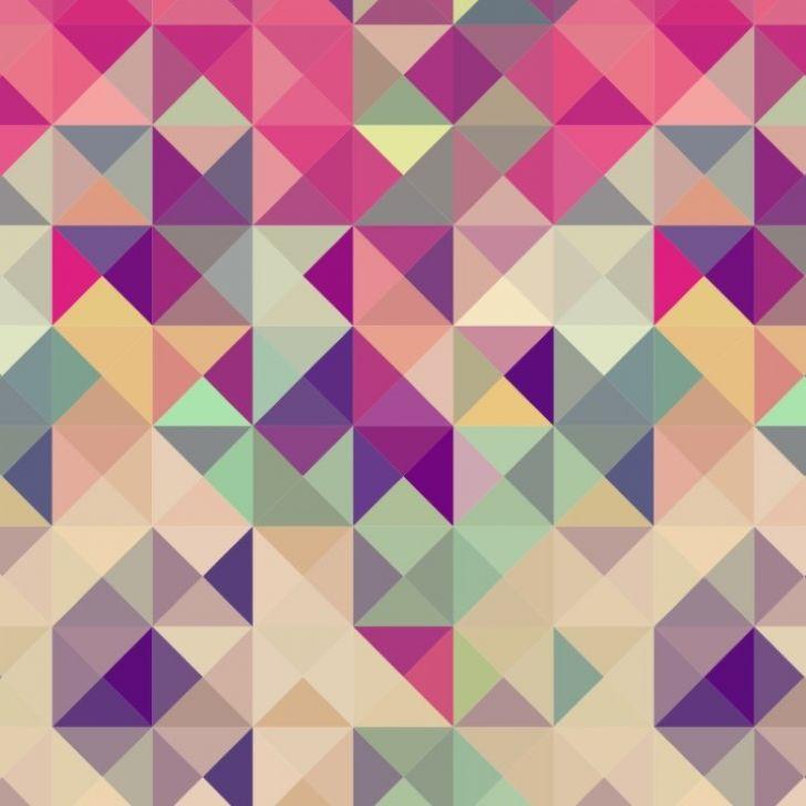 Adesivo De Unhas Para Formatura ~ Papel de Parede Adesivo Geométrico Triangulos Rosa