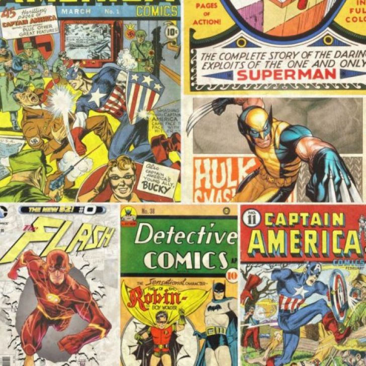 Papel de parede adesivo quadrinhos comic - Papel pared comic ...