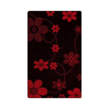 Tapete Sisllê Black Preto e Vermelho 200x250 DESCONTO DE R$: 447,00 (57,31% OFF) - OFERTA MOBLY