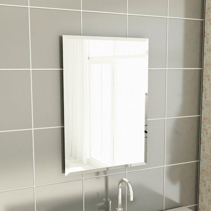 Ir Ao Banheiro Em Frances : Espelho de banheiro retangular cm