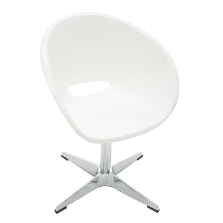 Cadeira Elena Giratoria Branco
