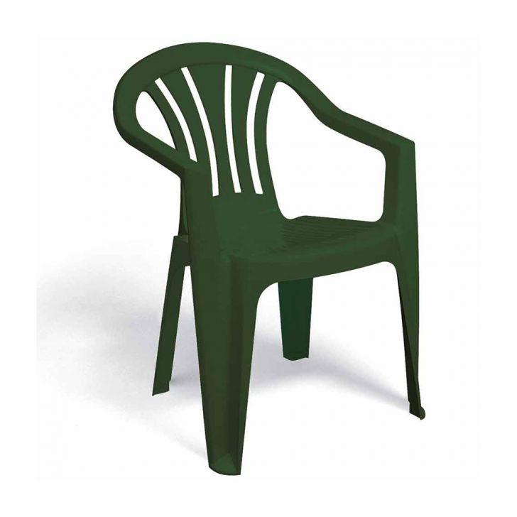 Poltrona Plástica Bertioga Verde