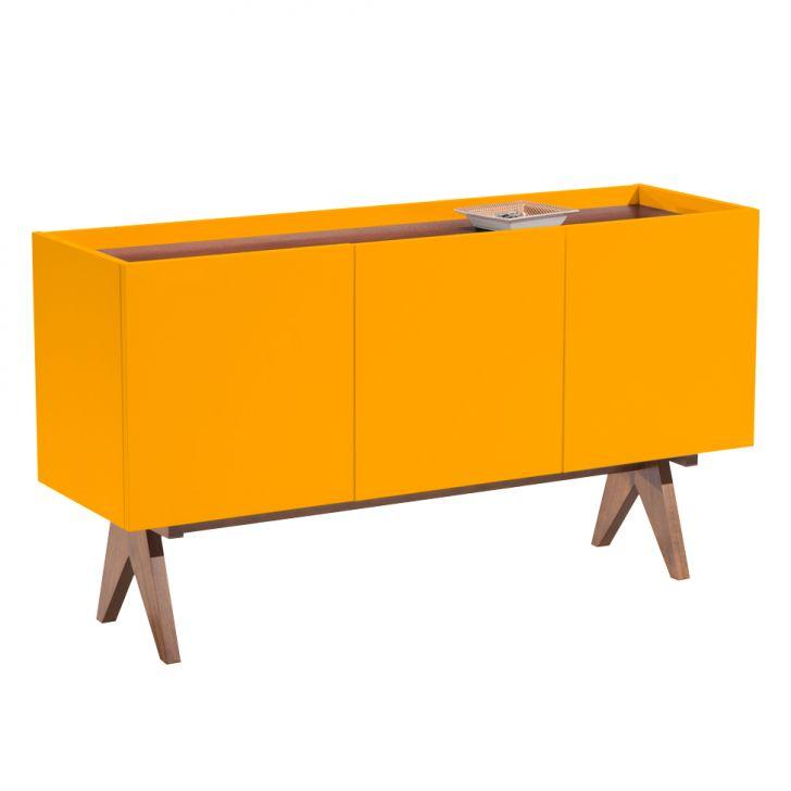 Buffet Paes 3 PT Amarelo