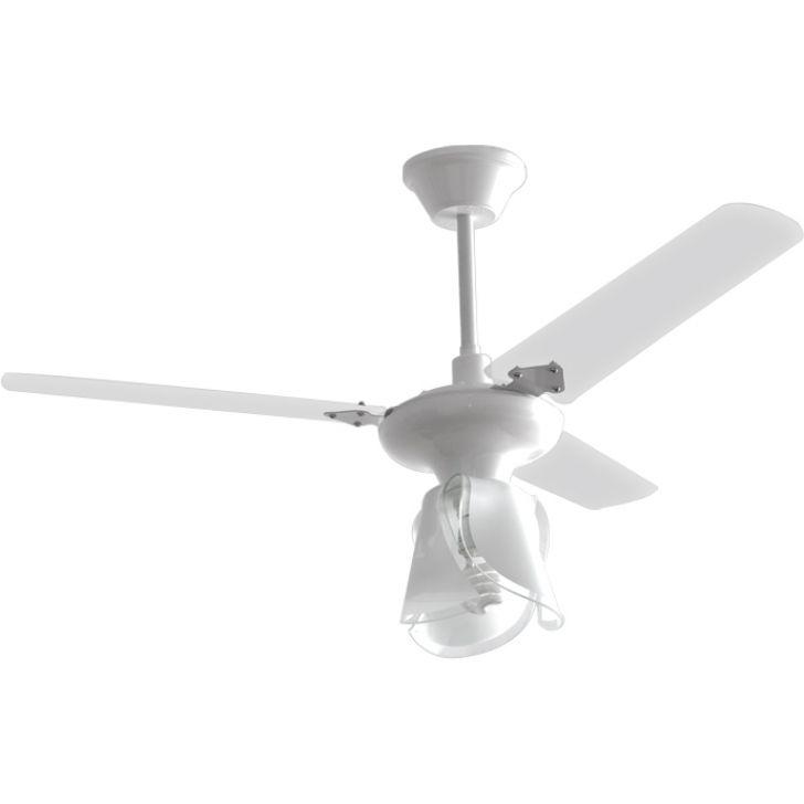 Ventilador Lestia 220V 3P Cpm New Branco 138,7W Teto BRANCO