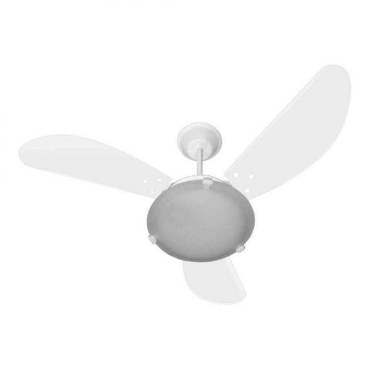 Ventilador Max Colors 220V 3P Clm New Branco 138,7W Teto BRANCO
