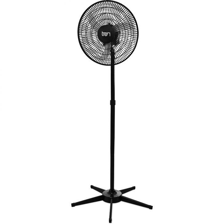 Ventilador Oscilante Pedestal Biv 50Cm Preto Pp 138,7 W Teto PRETO