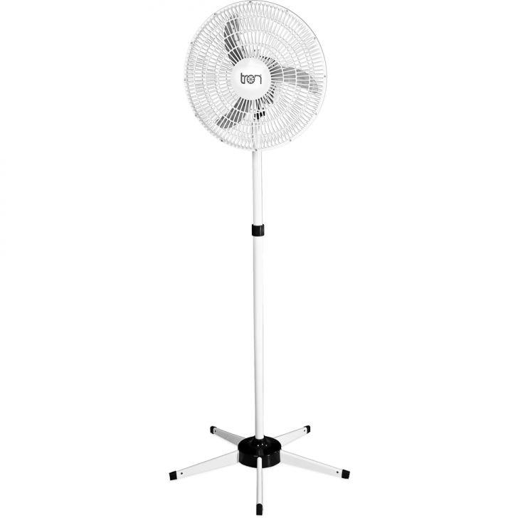 Ventilador Oscilante Pedestal Biv 60Cm Pp Branco 138,7W Teto BRANCO