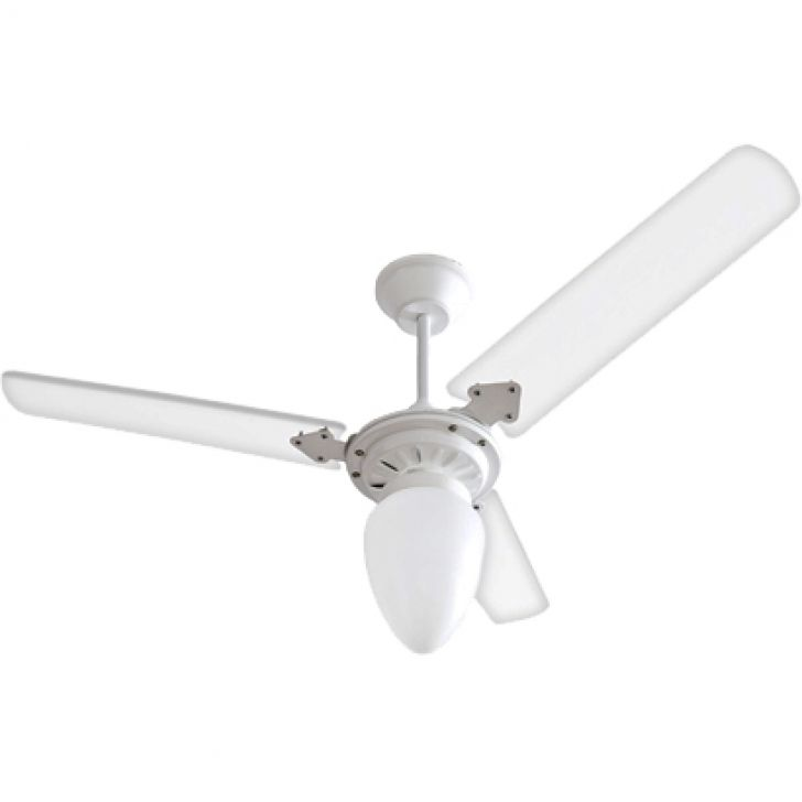 Ventilador de Teto Tramontana 110/127V 3P Cpm New Branco 138,7W BRANCO