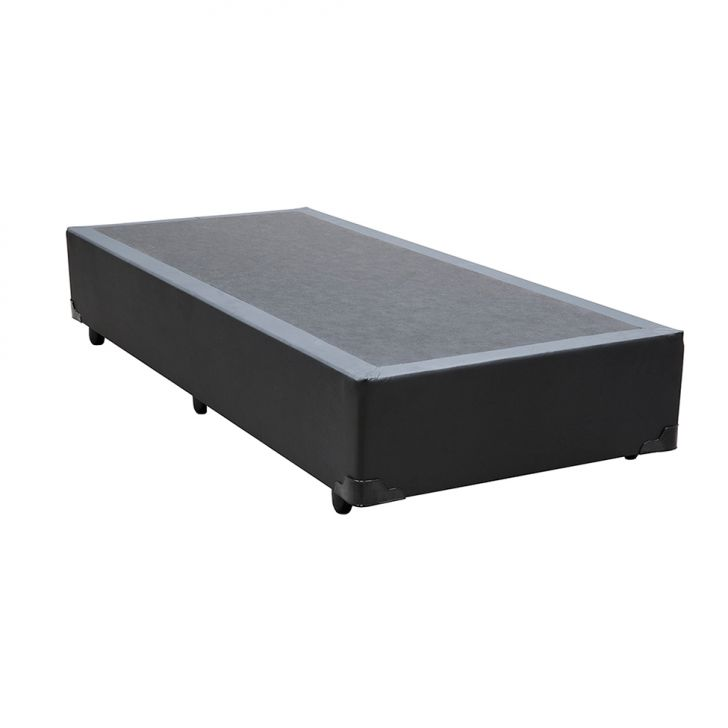 Base Box Solteiro 38X88X188 Preto