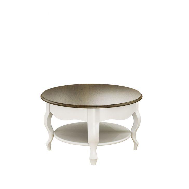 Mesa de centro cl ssica val ncia branco com imbuia - Mesa de centro clasica ...