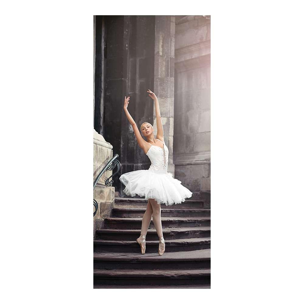 c62b523871 Adesivo Decorativo de Porta - Ballet - Bailarina - 1879cnpt