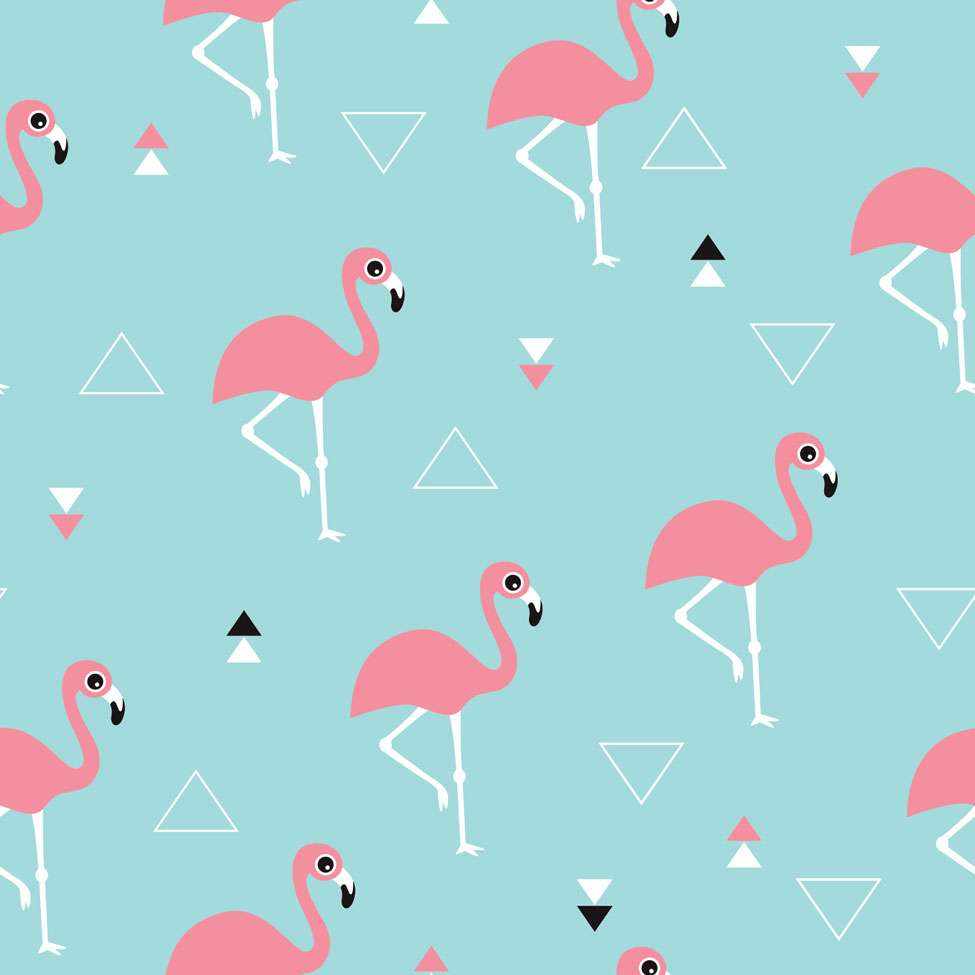 d01f2799e Papel de Parede Adesivo - Flamingos - 028pps